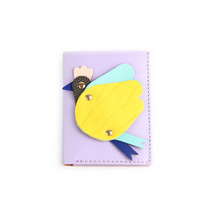 SALE Flying Hen Mini Wallet _ Violet