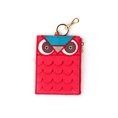 ANIMAL CARD PURSE - OWLS
