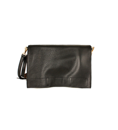 SALE Leather 2way bag Black