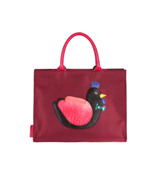 SALE  AniMAL APPLIQUE BAG_Kko Kko Wine
